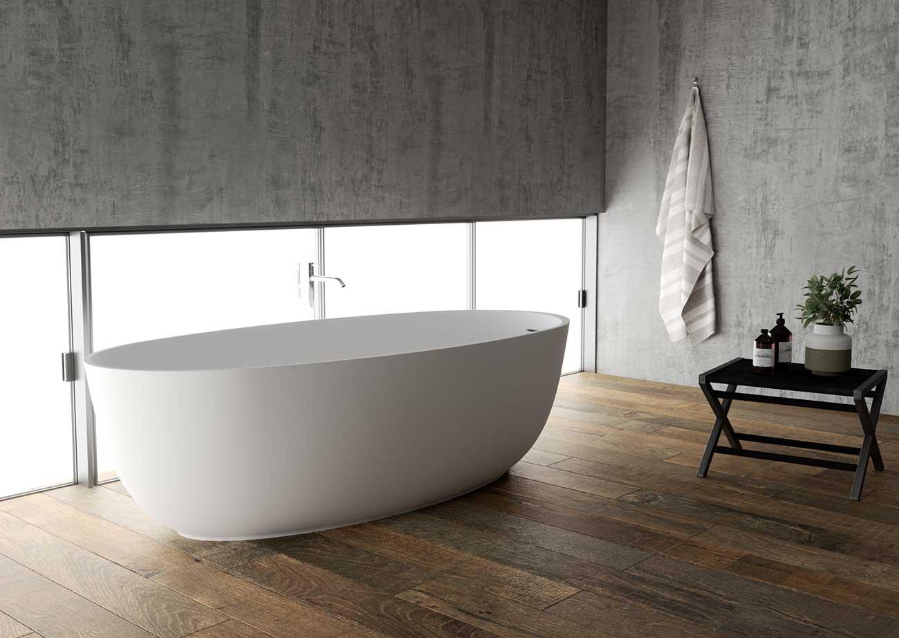 אמבטיה מעוגלת מבית NICOS