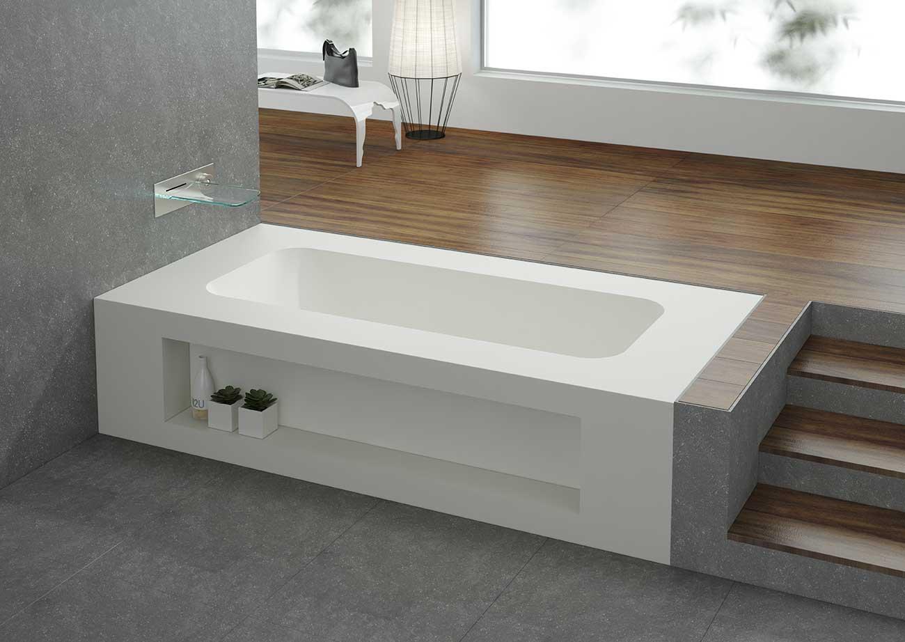 אמבטיה יוקרתית בעיצוב יחודי