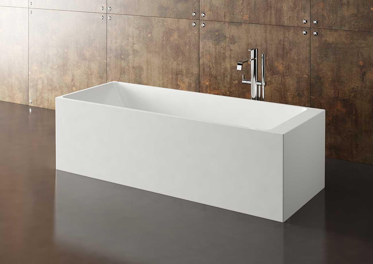 אמבטיה מלבנית יוקרתית