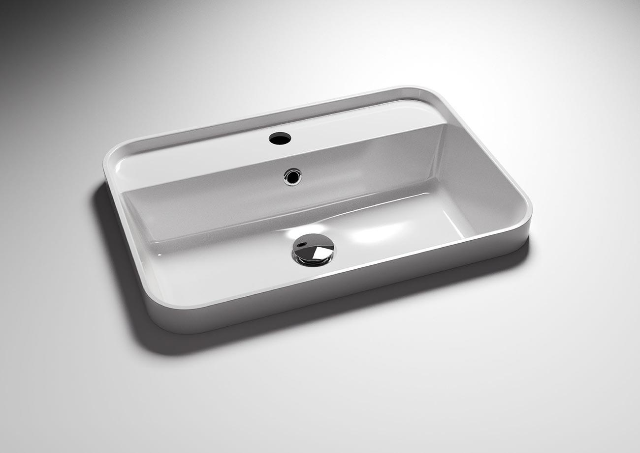 כיור רחב לאמבטיה
