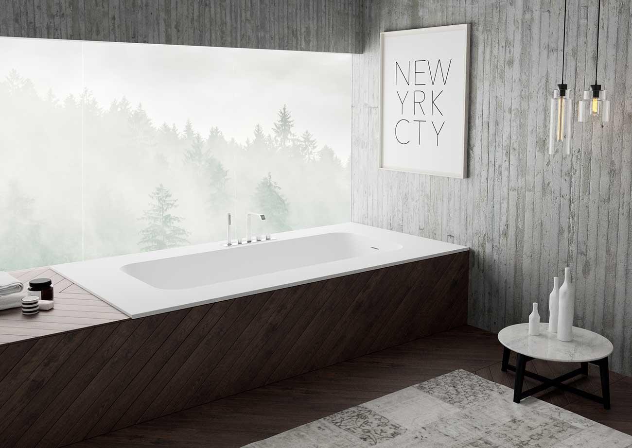 אמבטיה יוקרתית מעוצבת