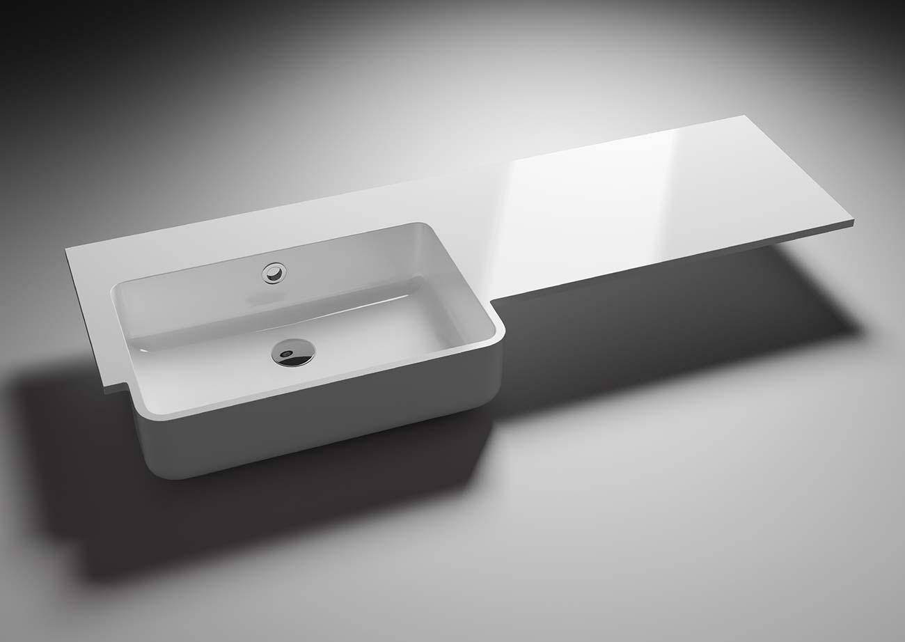 כיור אמבטיה בעיצוב יחודי