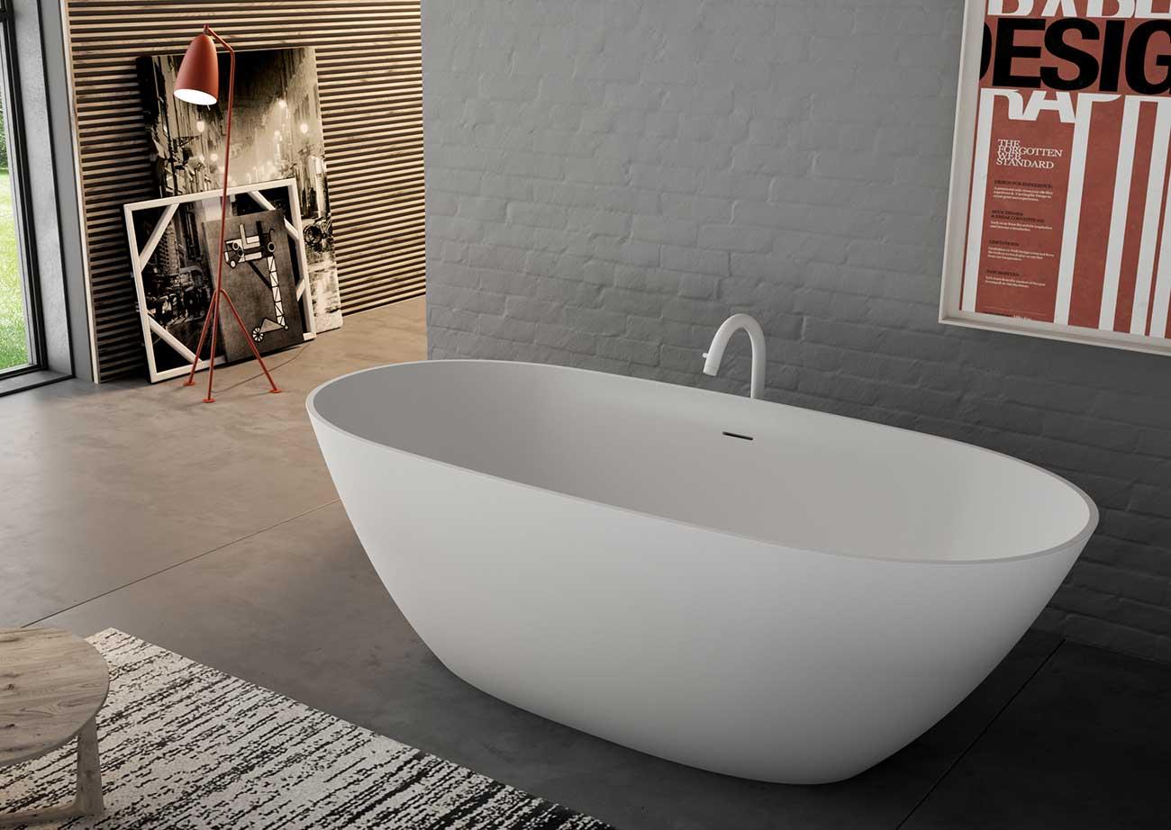 אמבטיה יוקרתית לבנה מבית NICOS