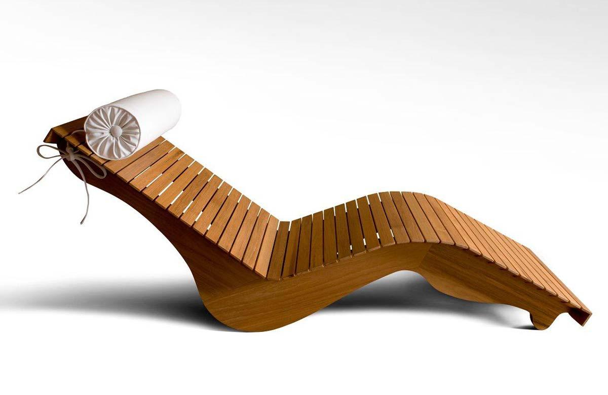 כיסא מעץ מבית INLE