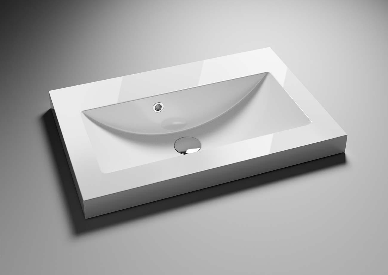 כיור בעיצוב יחודי לאמבטיה