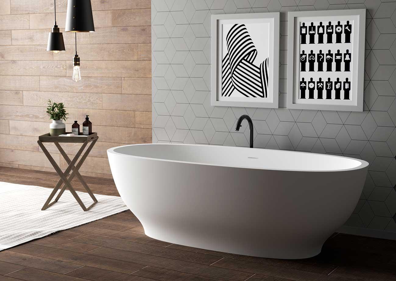 אמבטיה מעוצבת ויוקרתית